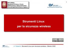 Strumenti Linux per la sicurezza wireless